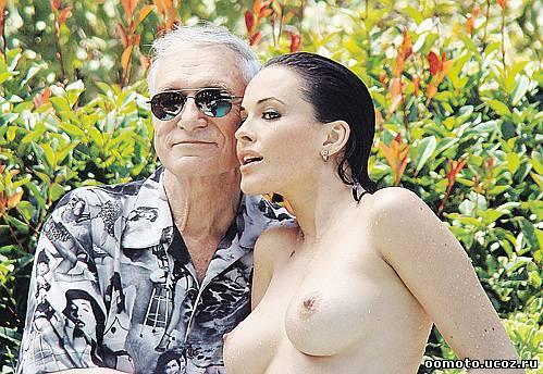 Украинская модель стала новой музой основателя Playboy.